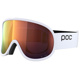 POC Retina Big Clarity Lunettes de protection, hydrogen white/spektris orange